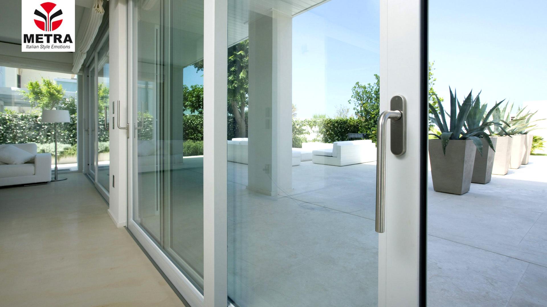 Finestre e porte scorrevoli metra spazio 4 serramenti - Finestre e porte ...