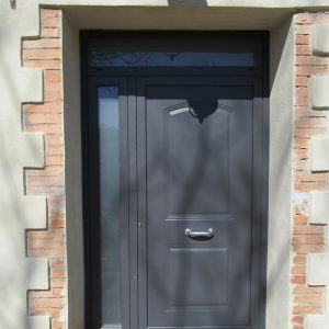 portone serratura di sicurezza