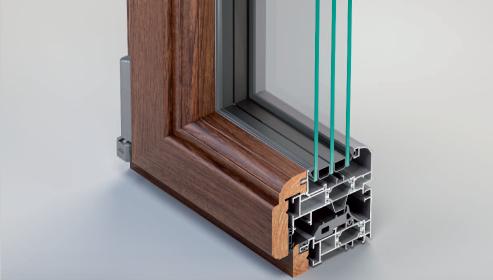 Sistemi per architettura metra spazio 4 serramenti for Prezzi serramenti legno alluminio