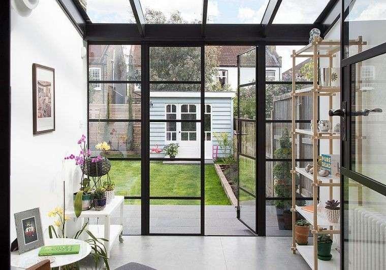 veranda in stile scandinavo