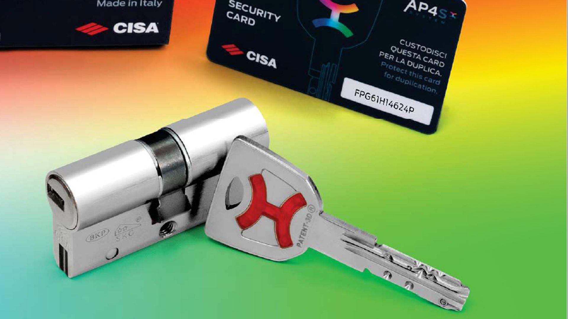 Il nuovo cilindro AP4S Cisa per la sicurezza della tua casa
