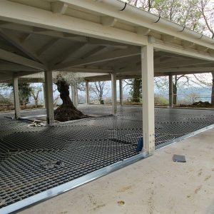 chiusura struttura in legno