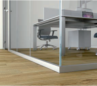 glass partition metra