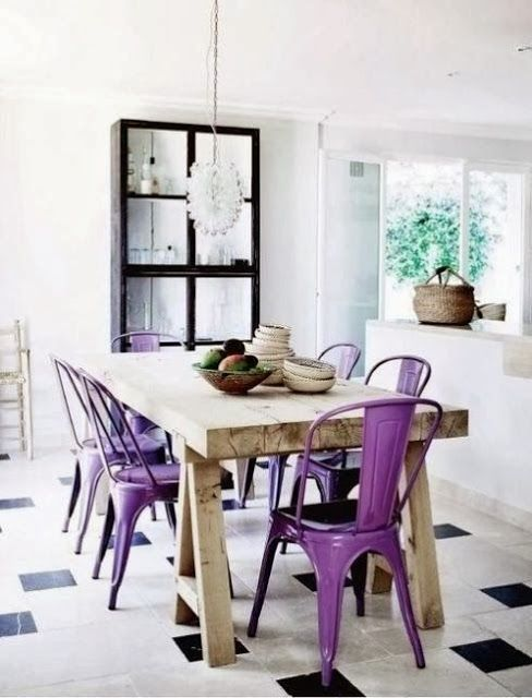 arredare casa con ultra violet