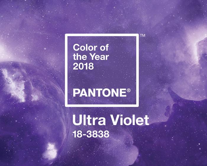 come arredare casa con ultra violet