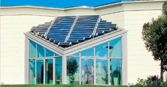 frangisole fotovoltaico