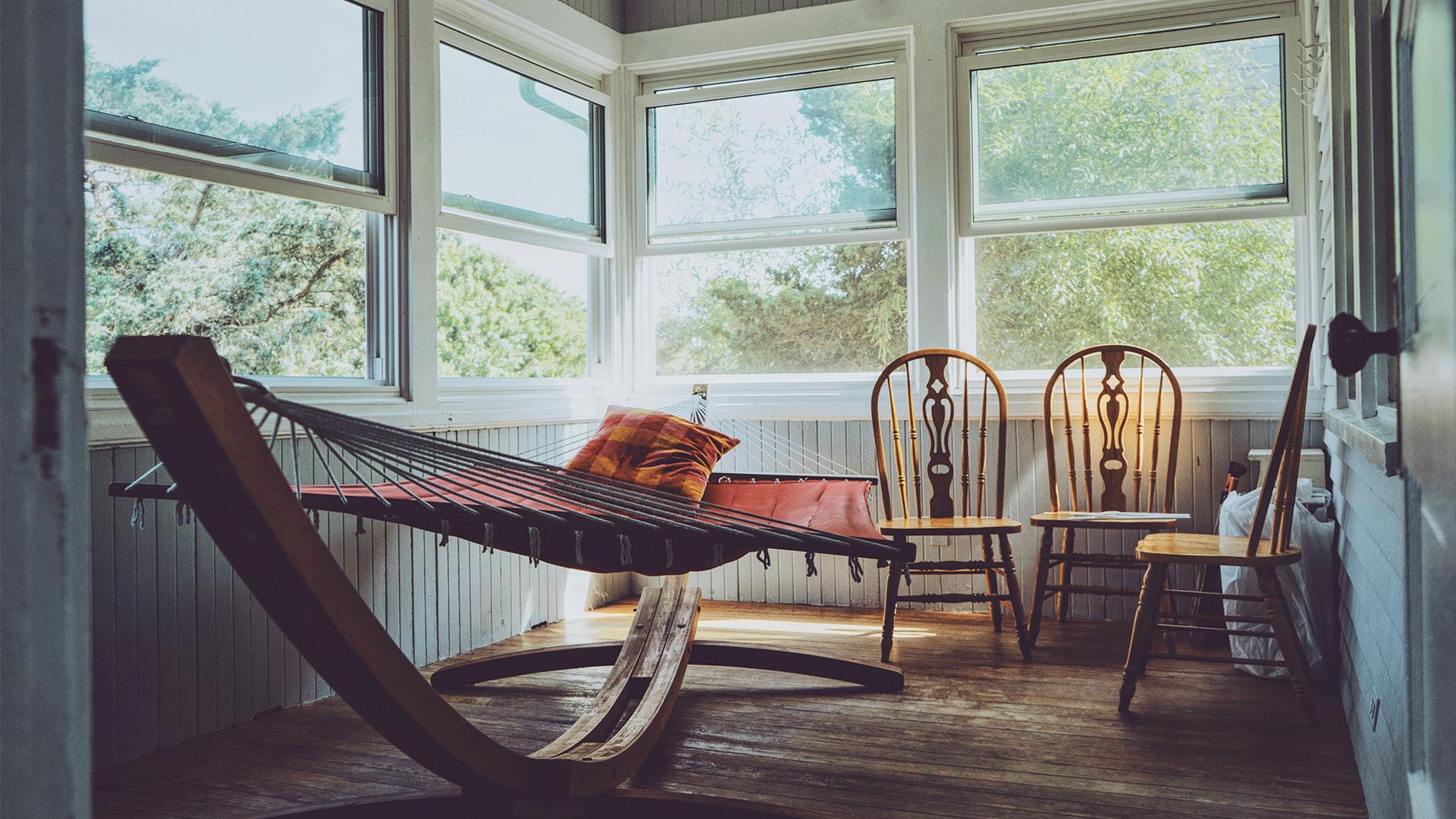 Come arredare la veranda con poco
